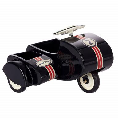 Maileg Spielzeug-Roller Scooter mit Beiwagen in bunt