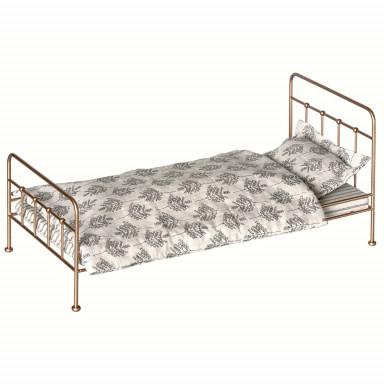 Maileg Puppenhausmöbel Vintage Bett für Hasen Medium