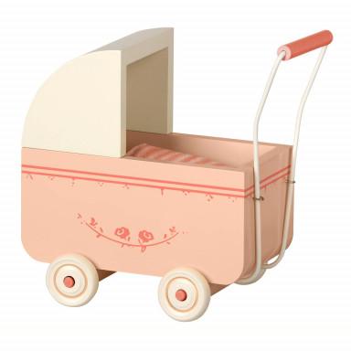 Maileg Kinderwagen, Micro - Puder