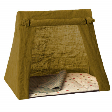 Maileg Zelt Happy Camper für Mini Mäuse in grün, groß