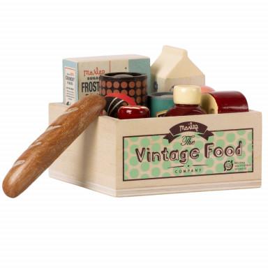 Maileg Vintage Food Lebensmittel Kiste
