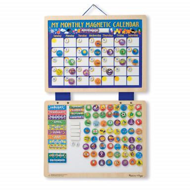 Melissa & Doug Mon calendrier magnétique mensuel