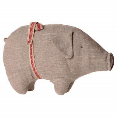 Maileg Schwein, Small, grau