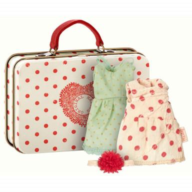 Maileg Maus-Koffer mit Sachen