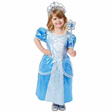 Melissa & Doug Kinderkostüm Prinzessin, blau