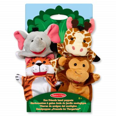Melissa & Doug Handpuppe-Set Zoo-Tiere