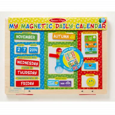 Melissa & Doug calendario meteo in inglese