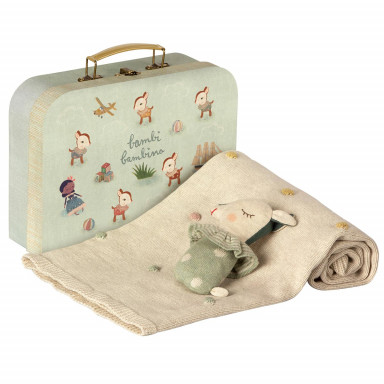 Maileg Baby Geschenk-Set, Dusty mint