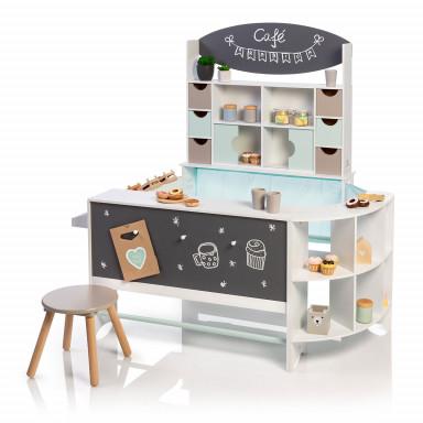 MUSTERKIND® Kaufladen & Café - Arabica weiß/mint/warmgrau