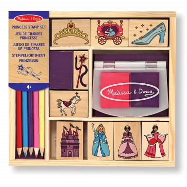 Melissa & Doug 12418 Jeu de timbres princesse
