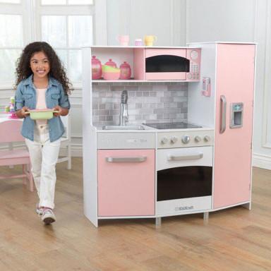 Kidkraft Spielküche rosa - AUS RETOURE (1)