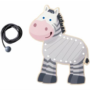 HABA Animale da infilare Zebra - 300188