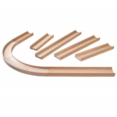 Haba Kullerbü - Complementary set Straight tracks and Curves