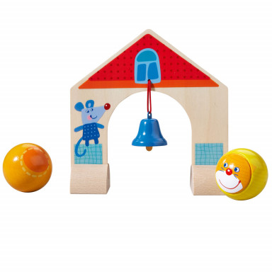 Haba Kullerbü - Complementary set Archway with little bell