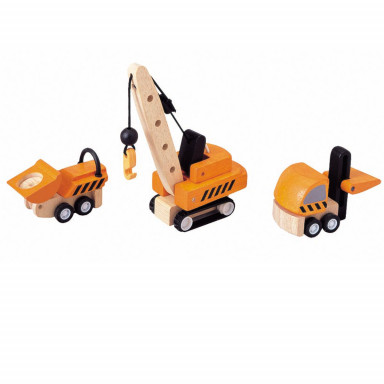 PlanToys Baustellenfahrzeuge