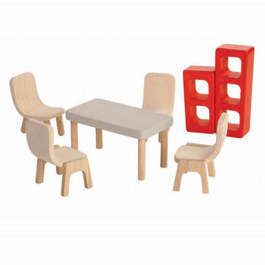 PlanToys Puppenmöbel Esszimmer