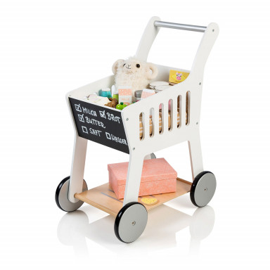 MUSTERKIND®  chariot de courses Rubus - blanc