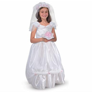 Melissa & Doug 14274 Costume abito da sposa