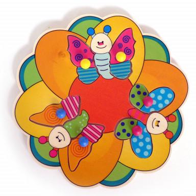 Hess Puzzle Schmetterlinge