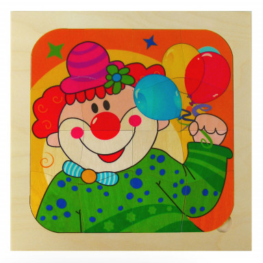 Hess puzzle clown