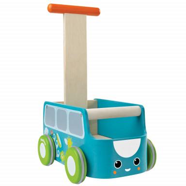 Plan Toys Lauflernwagen blau