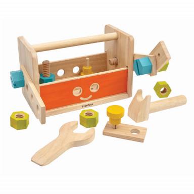 Plan Toys Roboter Werkzeugkasten