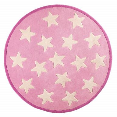Kids Concept Teppich Star rosa