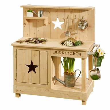 MUDDY BUDDY® Boue de cuisine Adventurer Star naturelle