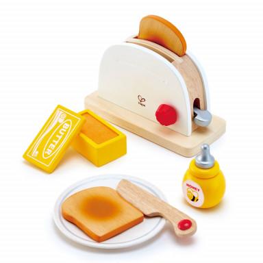 Hape Pop-up Toaster-Set weiss