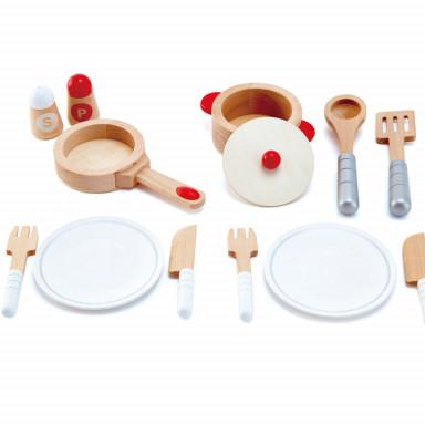 Hape E3150 Set de chef de cuisine gastronomique