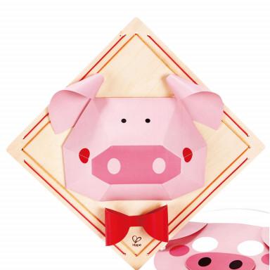 Hape Bastelset Schweinemaske
