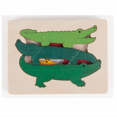 Hape Puzzle crocodiles