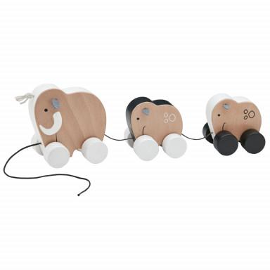 Kids Concept Nachziehtiere Mammutfamilie NEO