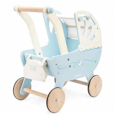 Le Toy Van Honeybake Puppenwagen, blau