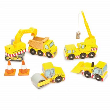 Le Toy Van Pojazdy budowlane