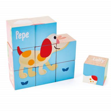 Hape Cubes Puppy et ses amis