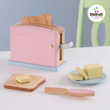 KidKraft Toaster Spielset in Pastellfarben