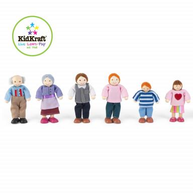 KidKraft Famiglia di Bambole 65202