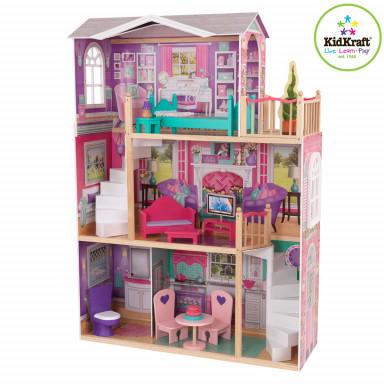 KidKraft 65830 elegante casa per bambole fino a 46 cm