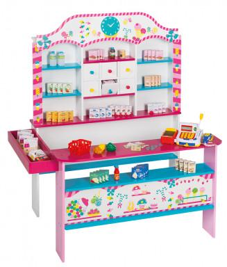 Roba 92808 Kaufladen CandyShop mit Zubehör