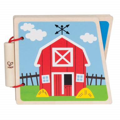 Hape Książeczka na farmie - E0030