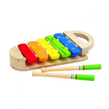 Hape Musikinstrumente Regenbogen-Xylophon
