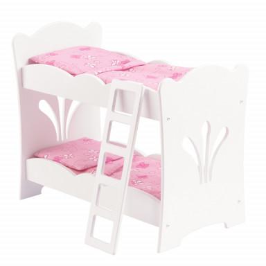 KidKraft Łóżeczko piętrowe dla lalek – Lily 60130