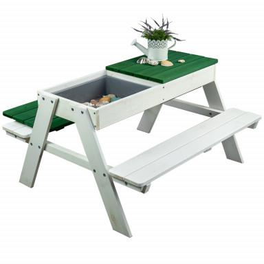 Meppi Sitzgruppe Rügen weiss / grün