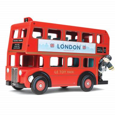 Le Toy Van Londyński autobus z kierowcą