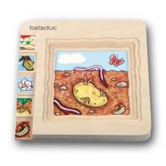 Beleduc Puzzle 5 capas - Patata 17043