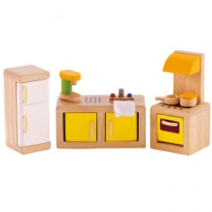 Hape Puppenhausmöbel  Küche