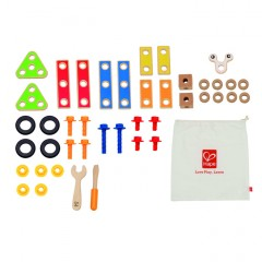 Hape E3080 Basic Builder Set