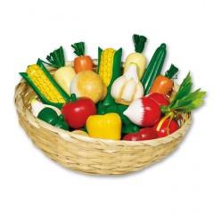 Goki groentemand 18-delig