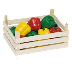 Goki peperoni in scatola di legno
